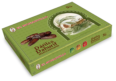 Dahurif Dates El Monaguillo Box 5Kg