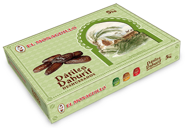 Dahurif Pitted Dates El Monaguillo Box 5Kg
