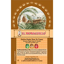 Processed Deglet Nour Dates El Monaguillo Label