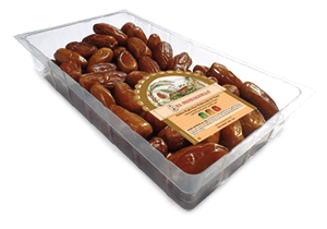 Natural Deglet Nour Pitted Dates El Monaguillo Tray 1Kg