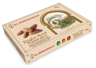 Natural Deglet Nour Dates El Monaguillo 5Kg