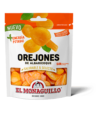 El Monaguillo Dried Apricots DoyPack Bag